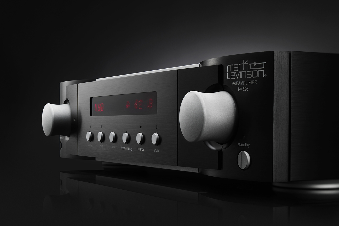 Mark Levinson No526 Pre Amplifier A Musical Masterclass Stereo Everything Is Duplicated With The Possible Amp Does Come Remote Control Handset That Duplicates All Front Fascia Functions Though